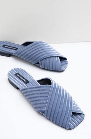 8ff704e211fa Muftya Julian Corduroy Sandals Blue