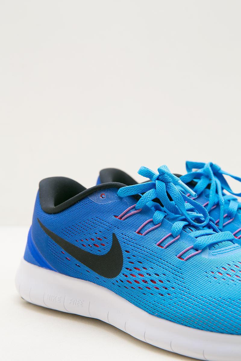 Womens Nike Free RN Running Shoe Blue