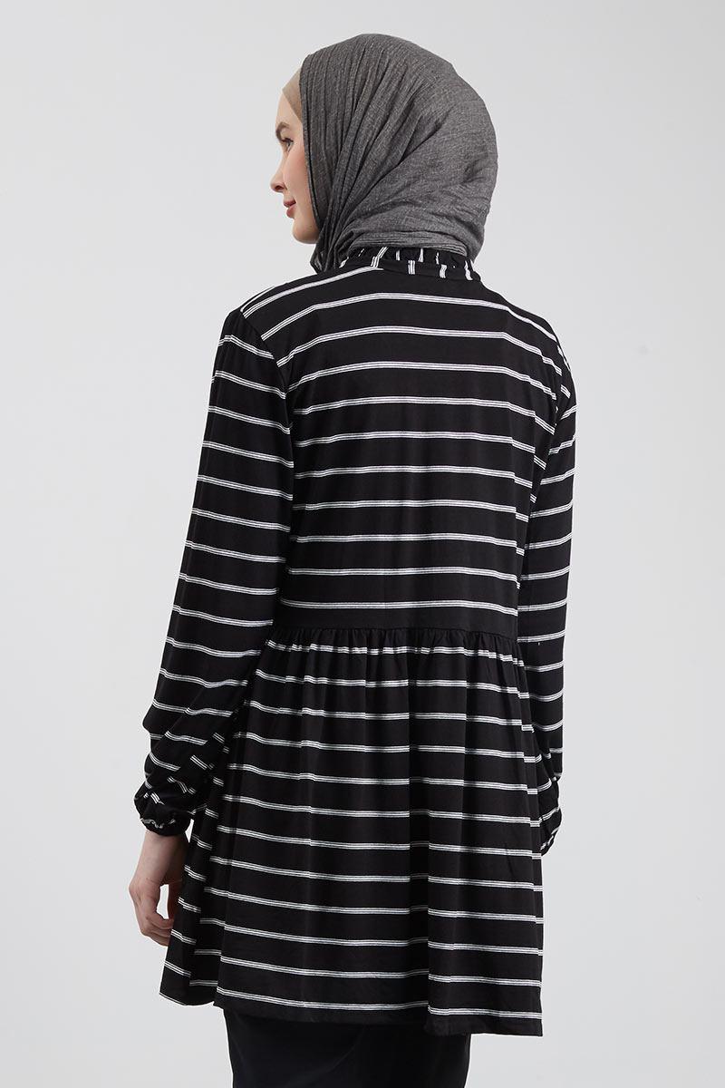 Sweater Hoodie Zipper Salur Hitam Best 4k Wallpapers