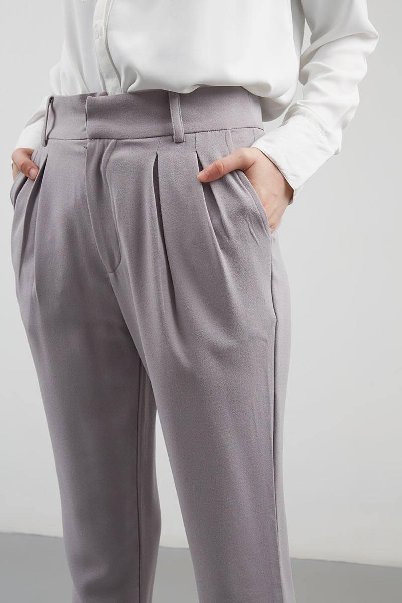 80e389e7596933 Sell Dalila Baggy Pants Grey Long-pants   Hijabenka.com