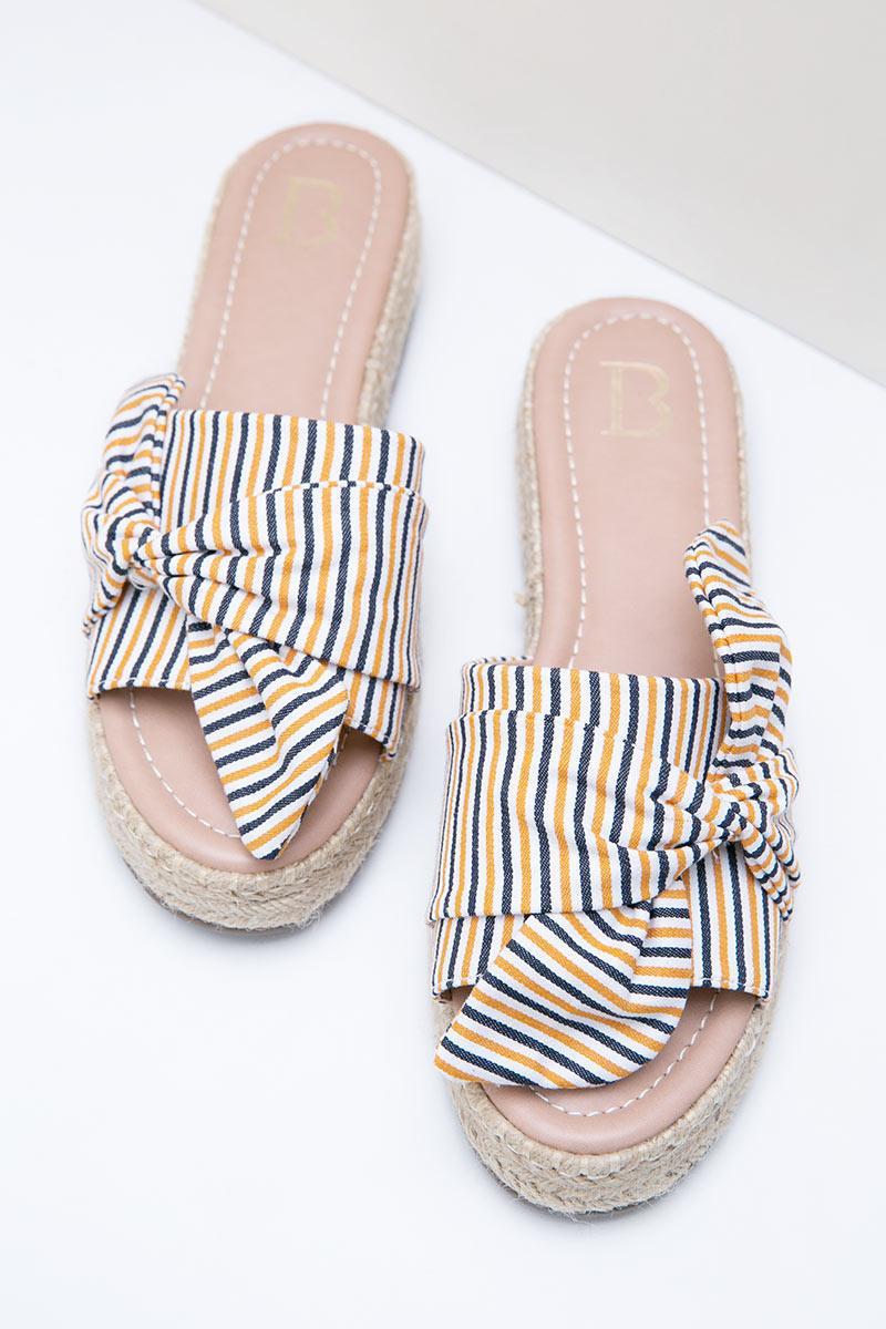 Yariva Yellow Sandals Sell Julian Big Bow F1clJ3KuT