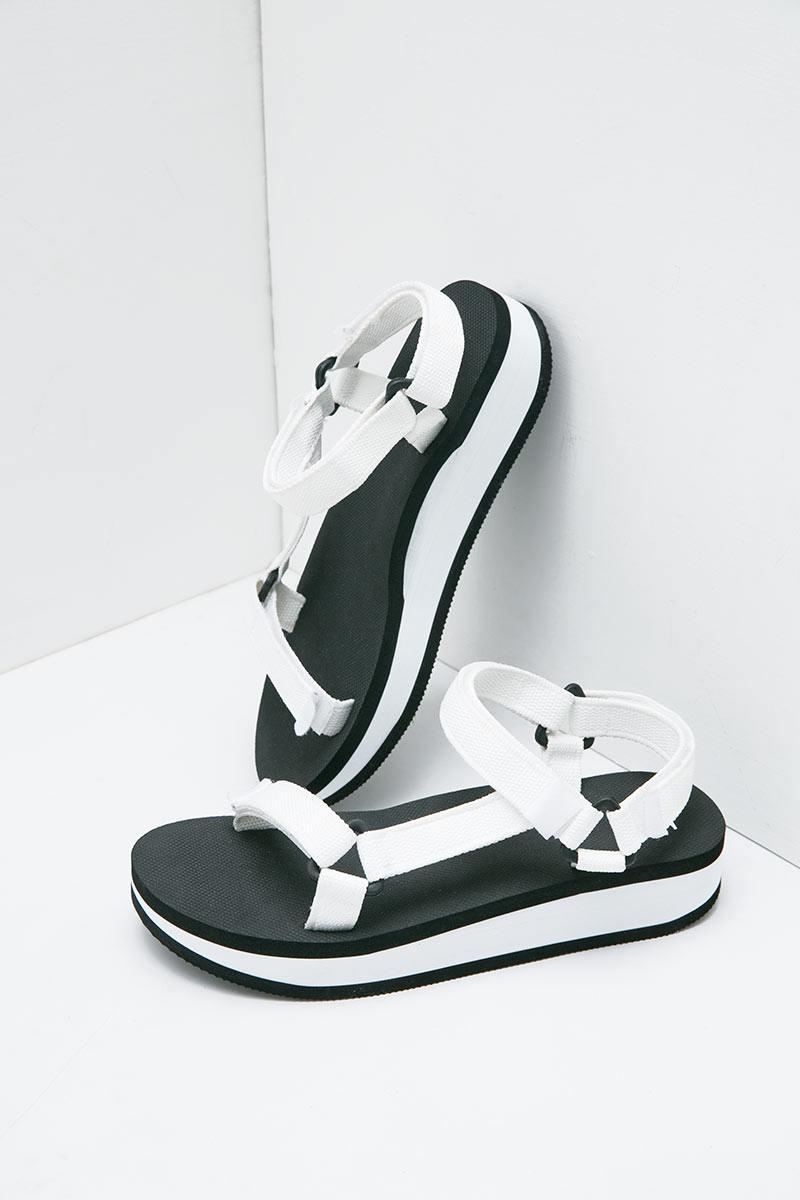 Sell Sophie Sacha Febria Eva Sandals White Sandals | Berrybenka.com