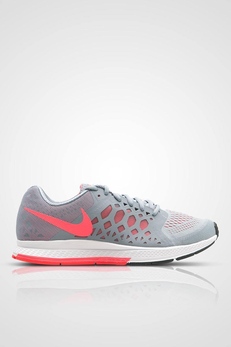 Sell Nike Zoom Pegasus 31 Womens Running Shoes - Grey Red Sneakers ...