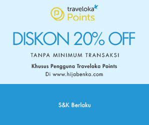 Traveloka Discount 20% No Min
